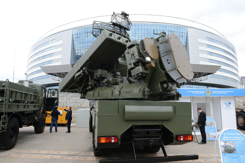 Глубокая белорусская модернизация ЗРК «Оса-АКМ». На снимке – боевая машина 9А33-2Б.