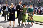 Элиза Спенсер, Льюис Спенсер, Виктория Эйткен и Китти Спенсер насвадьбе принца Гарри и Меган Маркл вВиндзоре, 19 мая 2018 года