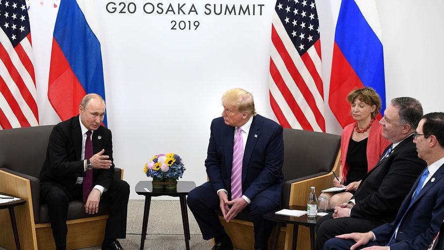 Лавров оценил встречу Путина и Трампа