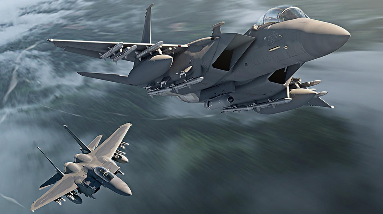 ВВС США заказали у Boeing первую партию истребителей F-15EX ...