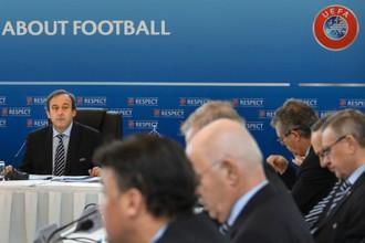 Заседание исполкома УЕФА в Лозанне