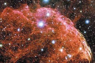 Туманность Медузы — остатки взрыва сверхновой и источник гамм-излучения