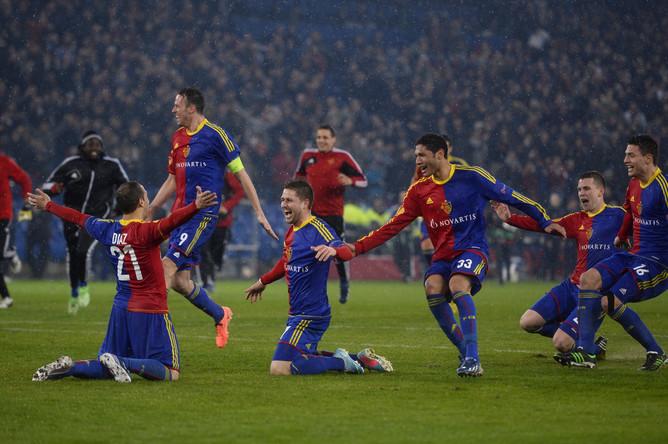 «Базель» впервые вышел в 1/2 финала Лиги Европы, в серии пенальти переиграв «Тоттенхэм»