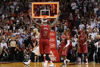 Леброн Джеймс — лучший игрок уходящего года в НБА, а его «Майами Хит» — чемпион НБА — 2013