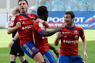 ЦСКА обыграл «Томь» в Химках