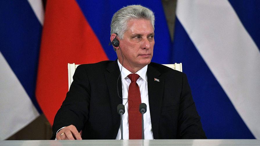 Президент республики Куба Мигель Диас-Канель Бермудес