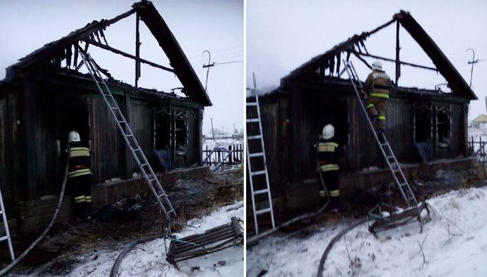 Сгорели четверо детей: страшный пожар в Алтайском крае