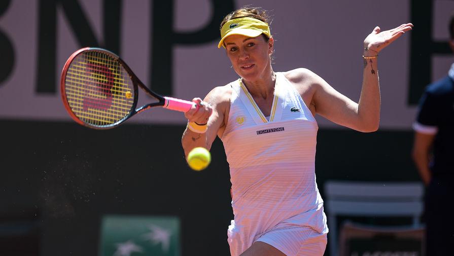 Российская теннисистка Павлюченкова пожаловалась на плохое самочувствие