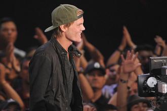 Диджей Avicii во время вручения премии iHeartRadio Music Awards в Лос-Анджелесе, 2014 год