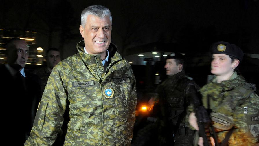 Глава Косово объяснил задержание гражданина России