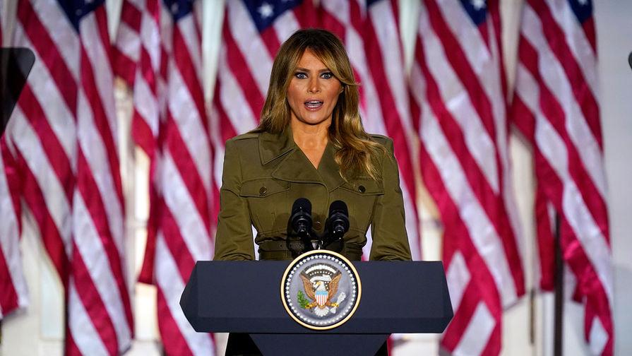 Меланья Трамп призывает учитывать законные голоса на выборах президента