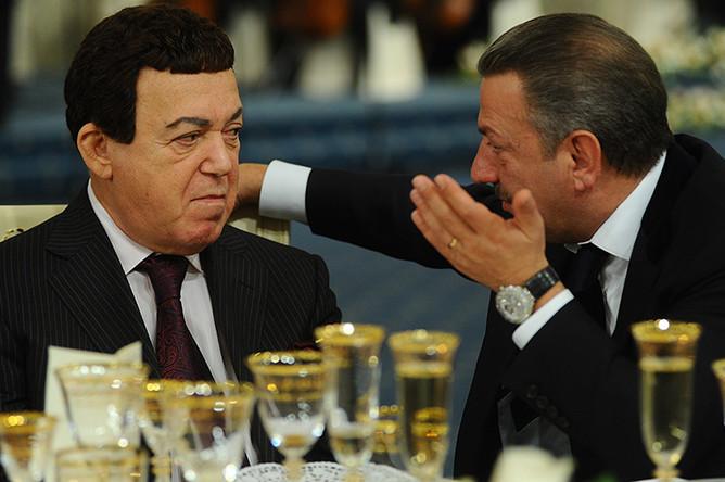 Иосиф Кобзон и Тельман Исмаилов, 2010 год