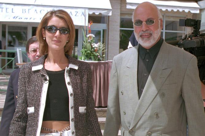 Селин Дион и Рене Анжелил, 1996 год