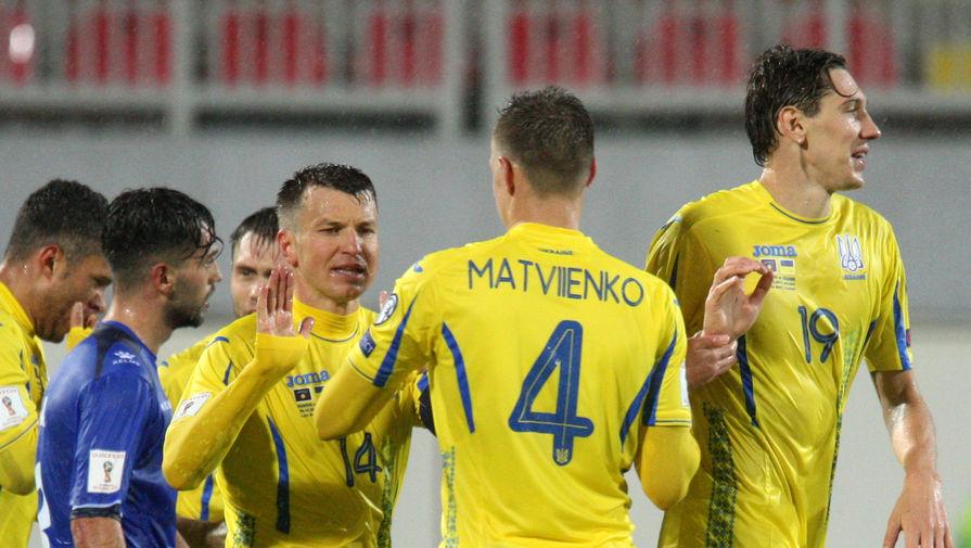 Сборная Украины сыграла вничью с Марокко в товарищеском матче