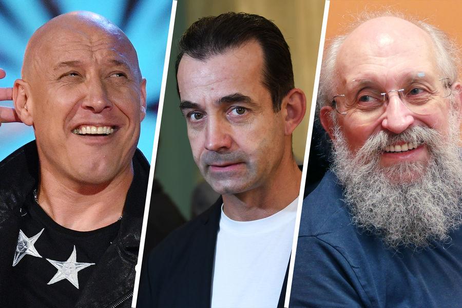 Денис Майданов, Дмитрий Певцов и Анатолий Вассерман