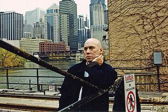 На съемках фильма Алексея Балабанова «Брат-2» (2000)
