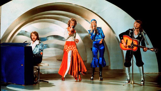 Группа ABBA на конкурсе «Евровидение», 1974 год