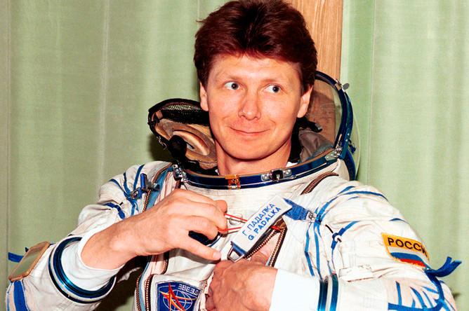 Падалка Геннадий — командир основного экипажа космонавтов («Союз ТМ-28»), 1998 год
