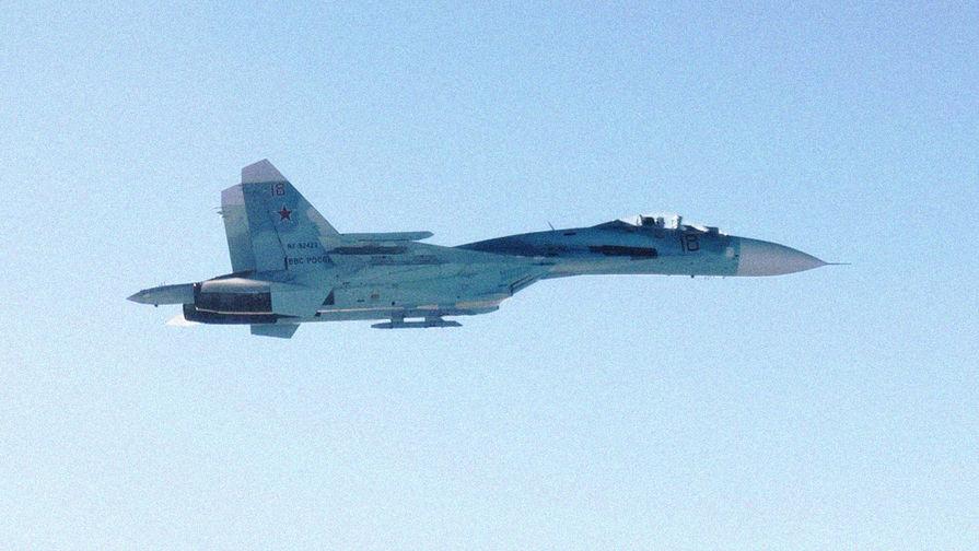 Видео оттеснения истребителя НАТО от самолета Шойгу появилось в Сети
