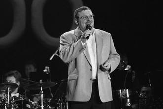 Михаил Круг во время фестиваля фестивале в Москве, 2000 год