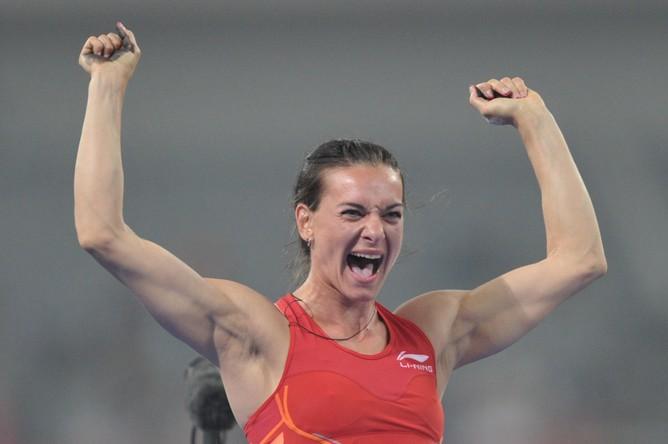 Елена Исинбаева примет участие в чемпионате России по легкой атлетике