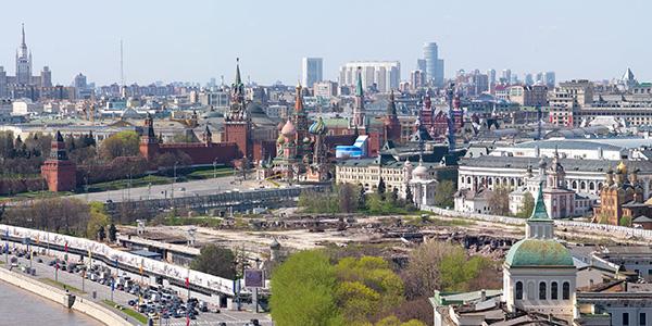 Зарядье и Кремль