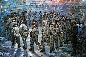 Винсент Ван Гог. Прогулка заключенных