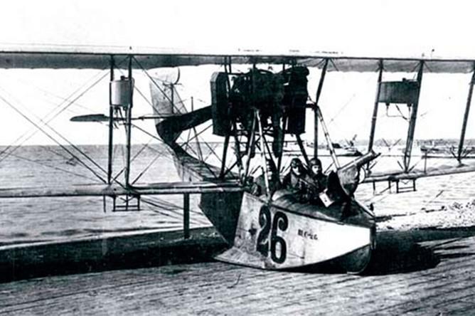Гидросамолет М-9 — участник победной операции над Балтийским морем в 1916 году
