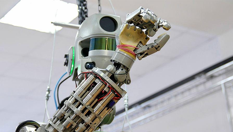 Опубликовано видео подготовки робота «Федора» к полету в космос