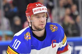 Капитан сборной России Сергей Мозякин получил травму в матче против команды Германии и досрочно покинул площадку