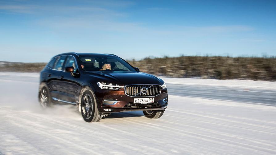 Заполярный тест: как дрифтить на Volvo XC60