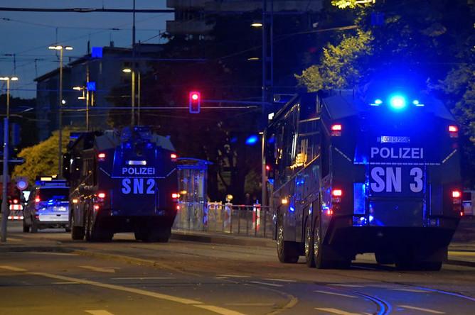 Ситуация в немецком городе Хемниц после убийства мигрантами местного жителя