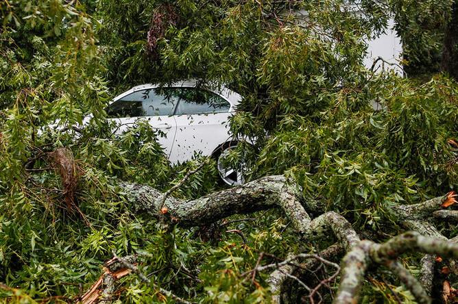 Последствия урагана Флоренс в Южной Каролине, 14 сентября 2018 года