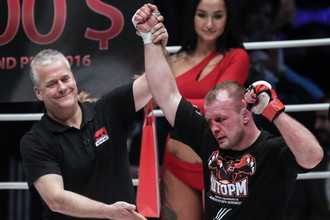Александр Шлеменко (справа) снова победил Вячеслава Василевского
