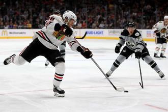 «Чикаго» уступил в гостях «Лос-Анджелесу» в последнем матче регулярного чемпионата НХЛ