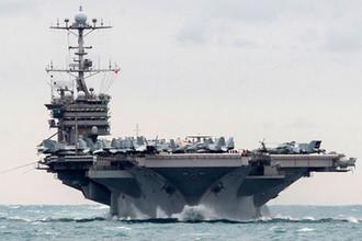 Авианосец USS Harry S. Truman, 2015 год