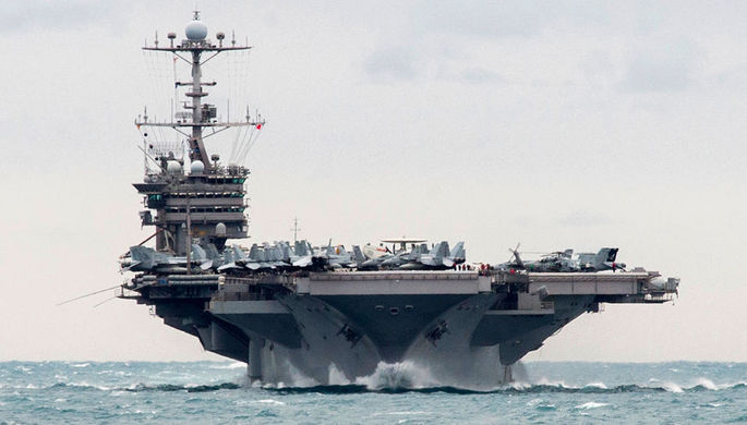 Авианосец USS Harry S. Truman, 2015 год