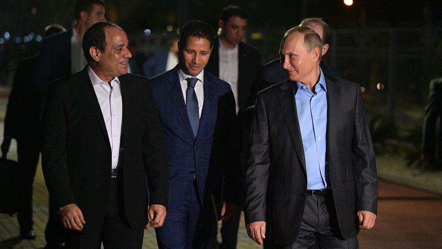 Путин и ас-Сиси договорились полностью восстановить авиасообщение России и Египта