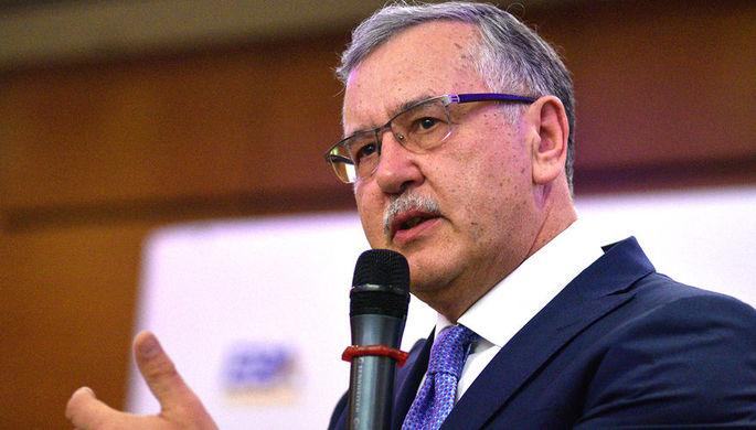 Экс-глава минобороны Украины Анатолий Гриценко
