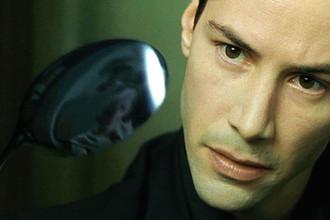 Кадр из фильма «Матрица» (1999)