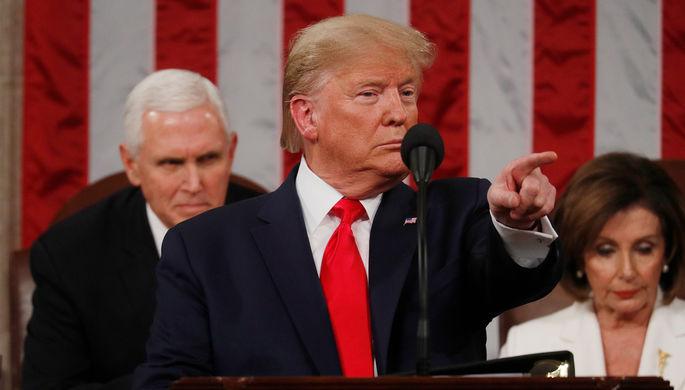 Порвали в конгрессе: Трамп обратился к США с речью