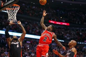 «Чикаго» прервал победную серию «Майами»