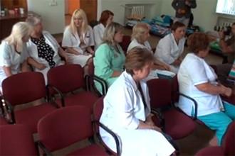 Коллектив врачей ставропольской детской клинической больницы им. Филиппского