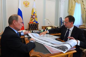 Мединский представил Путину проект комплекса Третьяковской галереи