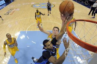 Центровой «Денвера» Тимофей Мозгов стал лучшим россиянином игрового дня НБА