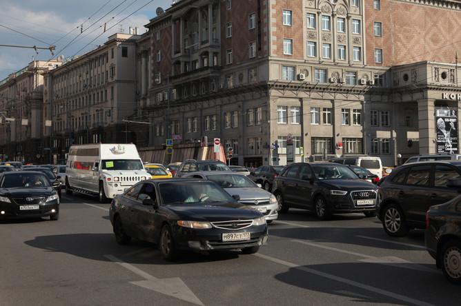 Тверская улица (бывшая улица Горького). Июнь 2014 года