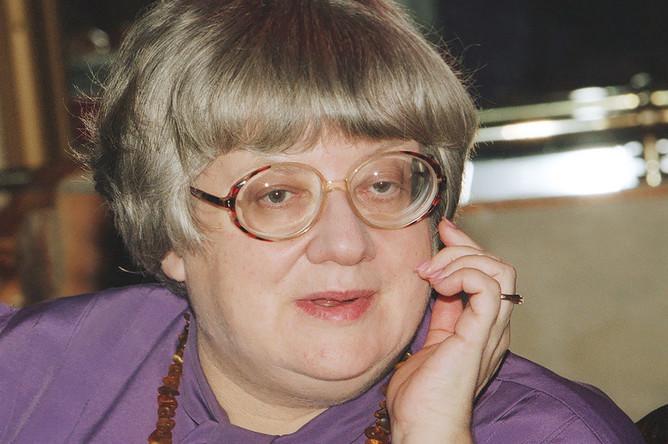Лидер «Демократического союза России» Валерия Новодворская, 1998 год