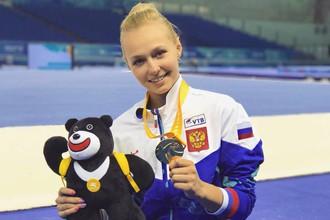 Российские гимнастки завоевали золото в командных соревнованиях на Универсиаде