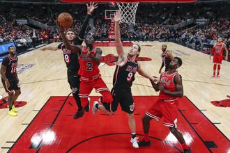 Матч регулярного чемпионата НБА «Чикаго Буллз» — «Майами Хит»
