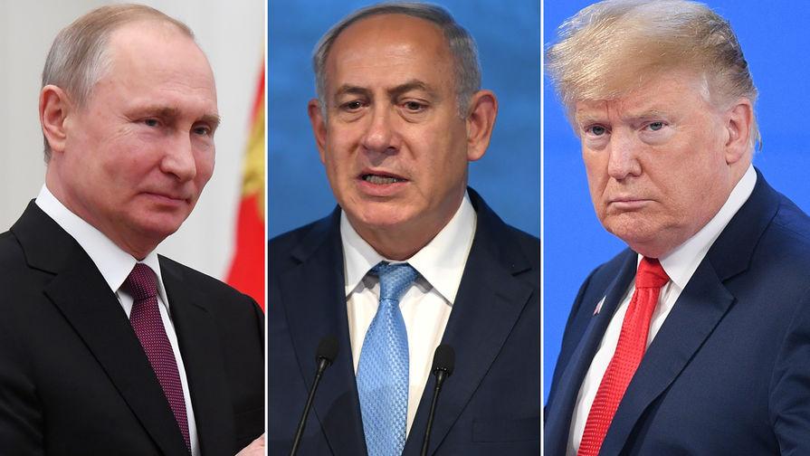 Нетаньяху предложил Путину и Трампу план по урегулированию в Сирии